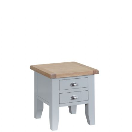 Toulouse Grey Lamp Table